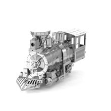 New DIY Mini 3D Metal Puzzle Cartoon Steam Train Assembly Model Adult Metal Jigsaw Children's Educational Toys
