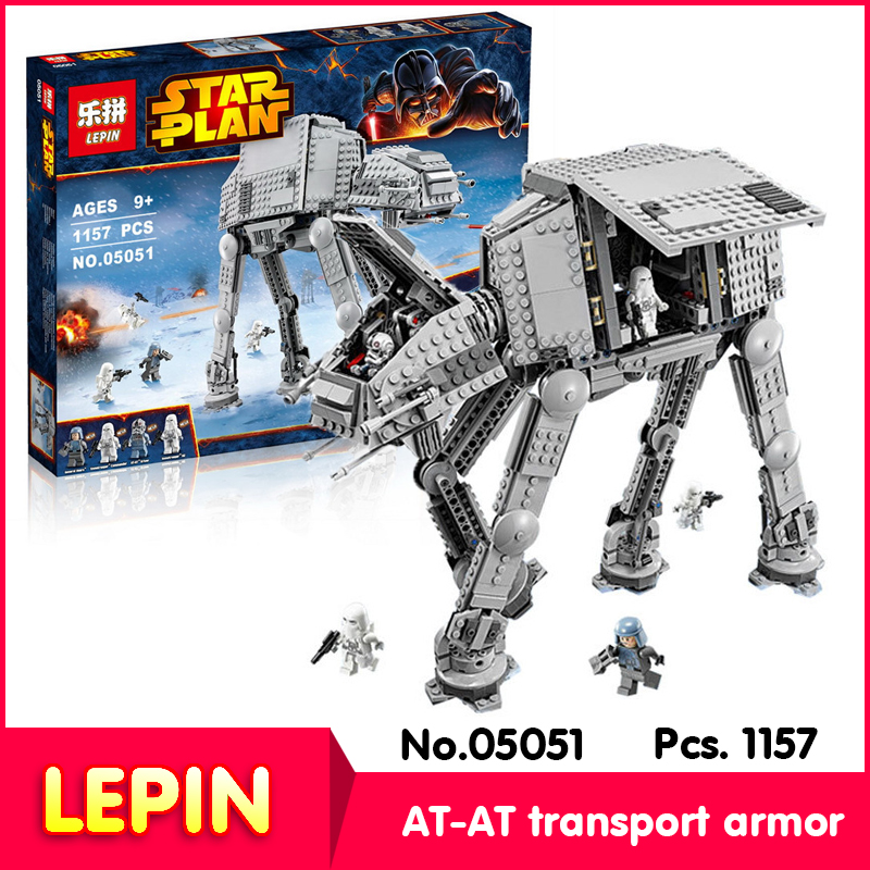 LEPIN 05051 1157Pcs with original box Star Wars Series AT-AT transport Armor Model Building Blocks with Children Toys 10178<br><br>Aliexpress