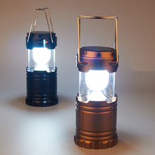 LED Solar Ourdoor Emergency Lamp AA Batteries/AC Charging Camping Tent Light Military Cup Solar Ourdoor Portable Lighting(China)