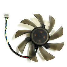 FY09015H12LPA 4PIN 85mm DC12V 0.6A radiator vga cooler fan for Asus GTX460 GTX560 Sapphire HD6790 HD7950 Graphics card cooling