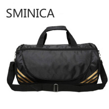 Free shipping SMINICA brand fashion extra large weekend duffel bag big genuine leather business men's travel bag popular America(China)