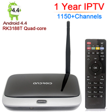 Android Tv Box CS918 1GB/8GB Rockchip RK3188T Quad Core Android 4.4 Smart TV Box 2.4GHz WiFi Full HD Media Player Set Top Box