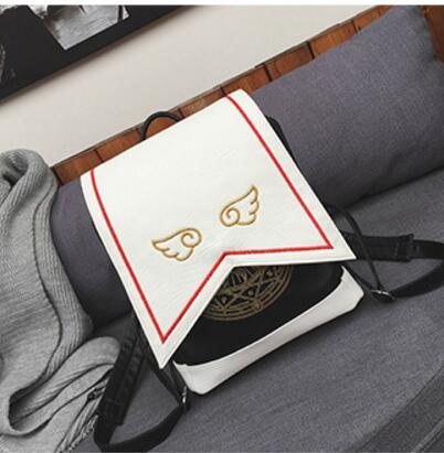Women Gilr Anime Card Captor Sakura Kinomoto Lolita Magic School Shoulder Bag Backpack Gift<br><br>Aliexpress