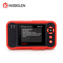 Launch Creader CRP129 Scanner OBDII/EOBD Auto Code Reader Free Update Online 4 Systems X431 CRP129 Creader 129 Diagnostic Tool(China)