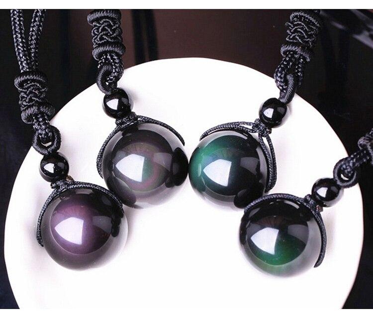 Black-Obsidian-Rainbow-Eye-Beads-Ball-Necklace_01