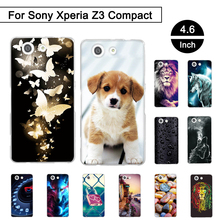 "Buy Painted Case Sony Xperia Z3 Mini D5803 D5833 4.6"" Soft TPU Cover Sony Xperia Z3 Compact Cases Sony Xperia z3 Compact for $1.05 in AliExpress store"