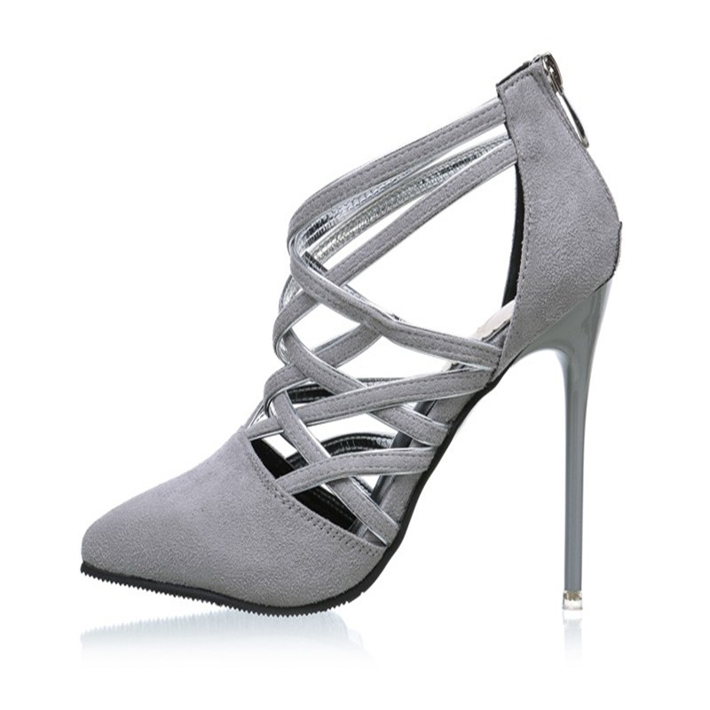 2017 new Sexy Gladiator High Heels Fashion High Heel Sandals Women Gladiator Sandals Lace Up Women Summer Sandalias Mujer <br><br>Aliexpress