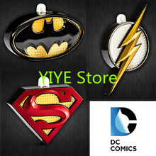 Hot! DreamEX DC Original Batman Superman The Flash Intelligence 3M Body Induction Wall Lamp Figure Model Toy AF07(China)