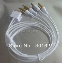 GOLD PLATED COMPOSITE AV Video Cable for IPHONE 4 support all ios
