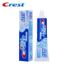 Crest White Natural Multi-effect Salt White Toothpaste Teeth Whitening Tooth Paste Squeezer Toothpaste 140g(China)