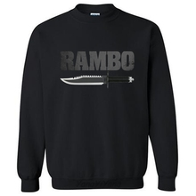 Rambo Movie First Blood Knife Logo men brand hoodies autumn sweatshirts cotton clothes new 2017(China)