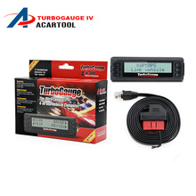 NEW Arrival Turbogauge IV 4-in-1 Vehicle Computer OBDII/EOBD car trip computer / Digital Gauges/ scan gauge/ car scan tool