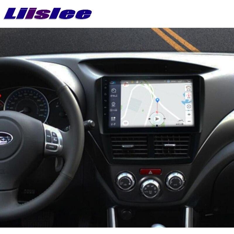 For Subaru Impreza Outback Sport B3 GE GV GH GR RX WRX 2007~2014 LiisLee Car Multimedia GPS Audio Radio Stereo Navigation NAVI 4