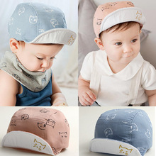 3-24 Months Baby Baseball Caps Boys Girls Spring Summer Hats Little Stars Sun Hat Baby Cotton Cap New Fashion Free Shipping