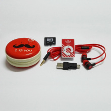 New Clip MP3 Player Portable Mini MP3 Music Player Provide 4GB Micro SD Card & Stereo Earphone & Mini USB Cable & Metal Box