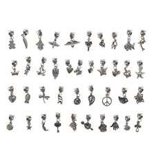Buy 5PCS/10PCS/20PCS/40PCS Random Mixed Antique Silver Plated Charms Pendants Necklace Jewelry Making DIY Handmade Craft for $1.43 in AliExpress store