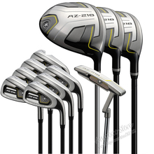 New Golf clubs AZ-218 complete clubs set Driver+3/5 fairway wood+irons+putter Graphite Golf shaft headcove Free shipping