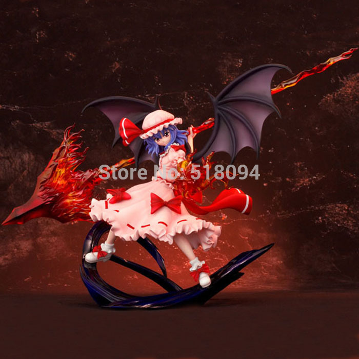 Anime Touhou Project Remilia Scarlet Gungnir ver. 1/8 Scale Action Figure Collectible Model Toy 10 25cm<br><br>Aliexpress