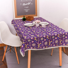Christmas Elk Multi Tablecloth Functional Christmas Table Cloth for Party Picnic hotel Dining Tablecloths Festival decor EY11(China)