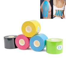 1 Roll 5m x 5cm Kinesiology Tape,Waterproof Elastic Physio Therapy Muscle Tape,Sports Safety Tape Bandage Strain Injury Support