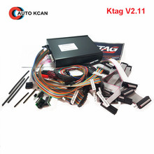 V2.11 KTAG K-TAG ECU Programming Tool Master Version Hardware V6.070 k tag 500 tokens DHL free shipping