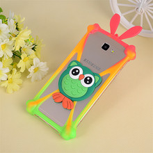 3D Cute Cartoon Animals Soft Silicone Universal Cover Case For HTC Desire 310 310w/400 t528w/700 7088/320 D320/VC T328D/510 D510(China)