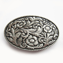 Distribute Belt Buckle Original Western Colwgirl Flower Vintage Belt Buckle Free Shipping 6pcs Per Lot Mix Style is Ok