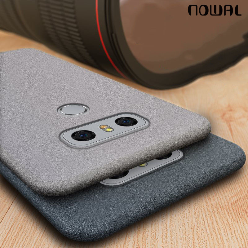Ultra Slim Matte Phone Case For LG V40 G7 ThinQ V30 Soft Silicon Protective Shockproof Cover For LG Q8 Q6 Mini G4 G5 SE G6 Coque(China)