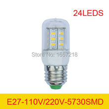 15730SMD 110V 220V E27 9W LED 24 Warm white/white Lights Bulbs Lamp corn Drop Bulb,Energy-saving lamps - Tightsen-Home world Store store