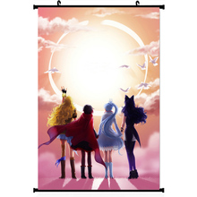 "NICOLESHENTING RWBY Volume 2 3 Anime Cartoon Silk Wall Scroll Poster 11.5x20"" 22.5x36"" Pictures Ruby Rose Weiss Schnee 014"