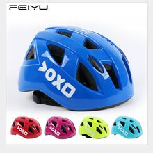 FEIYU S/M Children Safety Helmet Cap Roller Skate Helmet Cycling Protective Helmets Skateboard Scooter Sports Protection Pads