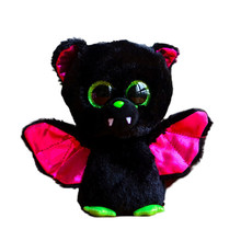 Ty Beanie Boos Original Big Eyes Plush Toy Doll Child Brithday 10 - 15cm Black Bat TY Baby For Kids Gifts