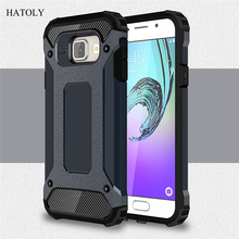 For Samsung Galaxy A3 2016 Case Silicone Shockproof Slim Hard Tough Rubber Armor Cases Phone Cover For Samsung A3 2016 A310F #<