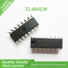 10pcs free shipping TL494CN TL494 494 Switching Controllers 40kHz 200mA PWM  DIP-16 new original
