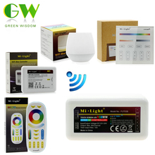 Mi.Light RGB+WW+CW LED Controller RF 2.4G / Wifi Remote Control DC12-24V for Full Color LED Strip.(China)