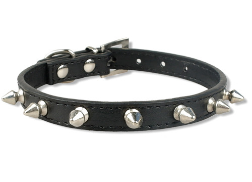 1 Row Cute rivets studded dog collars- DogsMall-International