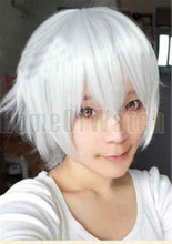 Fashion cosplay Hair White cosplay wig costume role play wig (NWG0CP60353-WH3)