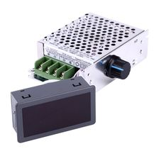 New Arrival 12V 24V 36V 48V 60V 80V DC 30A PWM Variable Digital Display CCM6DS-D DC Motor Speed Controller With Case