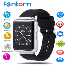 Fentorn Sale Q1 3G wifi GPS Smart Watch 512MB+4GB Android 5.1 MTK 6580 Smartwatch phone support bluetooth SIM Card app download