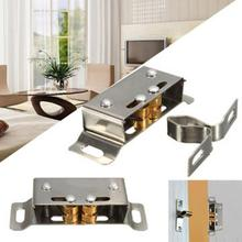 2017 Stable and Durable Stainless Steel Catch Stopper for Cupboard Cabinet Kitchen Door Latch Hardware