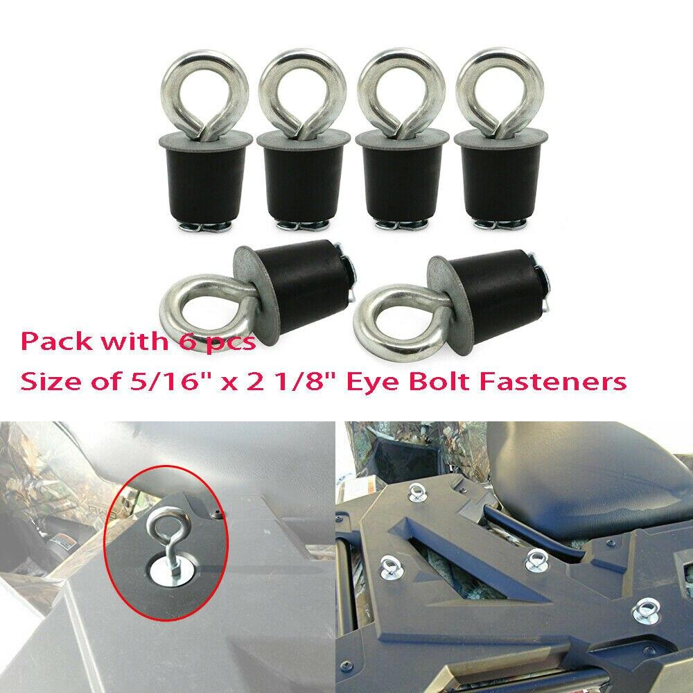 5P Polaris Lock /& Ride Lock and Ride Type Knob Anchor Sportsman RZR ACE ATV/'s