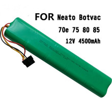 12V 4500mAh Replacement battery for Neato Botvac 70e 75 80 85 D75 D8 D85 Vacuum Cleaner battery