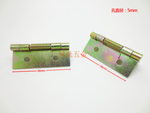 Wholesale 56*40mm 2-inch spring hinge Plating color Small hinge spring With spring hinge 10pcs/lot