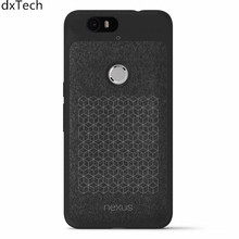 dxTech Google Nexus 6P Official Flannel Soft Phone Back Cover case coque with retail package