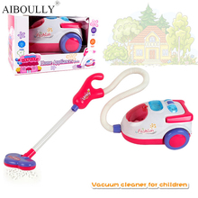 18 * 10 cm originality novel electric vacuum cleaner Children play house fancy small home appliance toy gifts to children