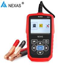 12V&24V Universal Car Truck Battery Tester Nexas NB360 2000CCA Automotive Battery Charging and Cranking System Test Analyzer(Hong Kong)