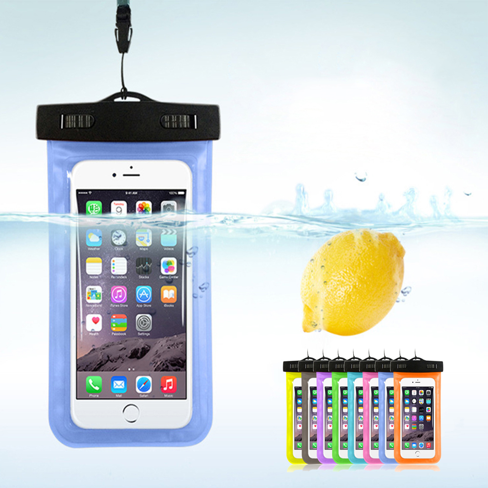 "Waterproof Pouch Dry Case Cover For Universal 4.8""-6.0"" Phone Camera Mobile Phone Water proof Bags For Iphone 5 5s SE 6 6s Plus(China (Mainland))"
