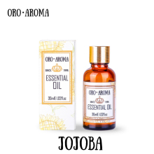 Famous brand oroaroma free shipping natural aromatherapy Jojoba essential oil Skin Hair care bath maintenance Jojoba oil(China)
