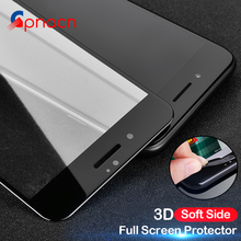 Buy 3D Curved Soft Edge Full Tempered Glass iPhone 7 7 Plus Screen Protector Film iPhone 8 6 Plus 6s Tempered Glass Cover for $1.25 in AliExpress store