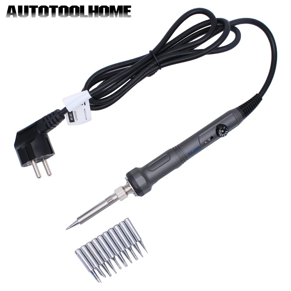 ATTEN SA-50 Electric Soldering Iron AC220V 50W High Accuracy Constant Temperature Controllable Thermostate with Welding Tips<br>